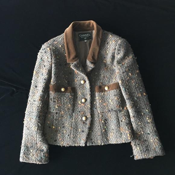 af1952318 ⚡️ Flash Sale! Authentic Chanel Jacket Vintage